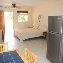 Bedroom - Studio Apartment