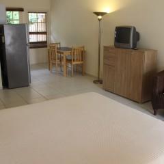 Living Area - Studio Apartment