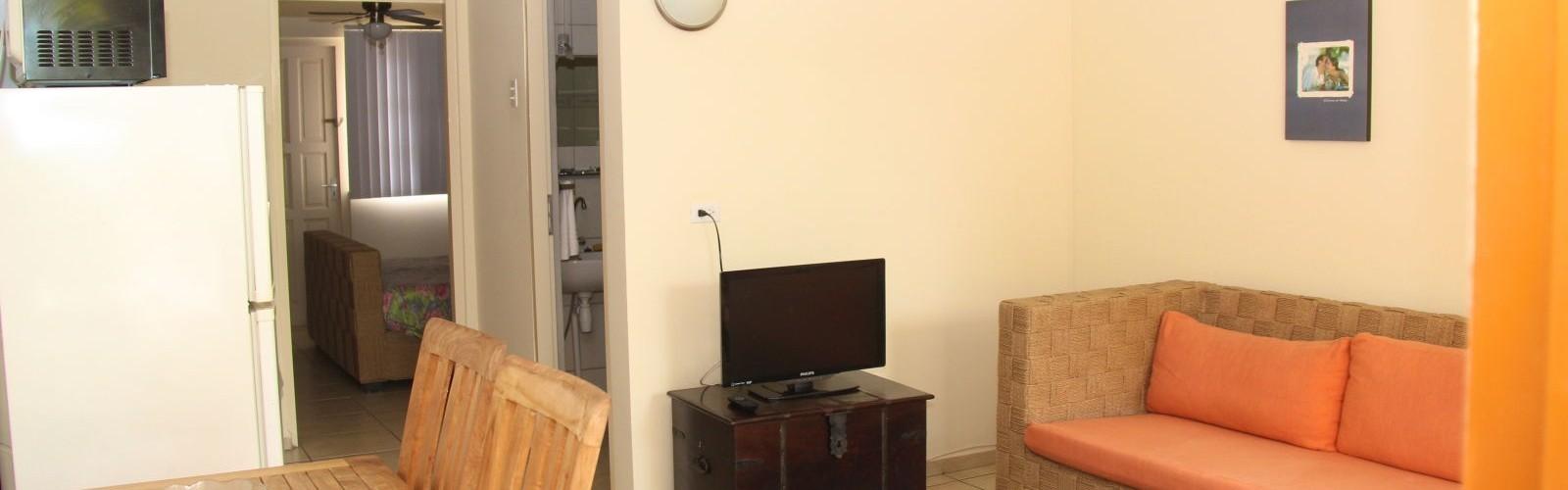 Living Room - Deluxe One Bedroom